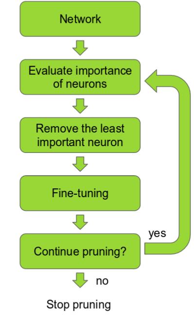 Pruning steps